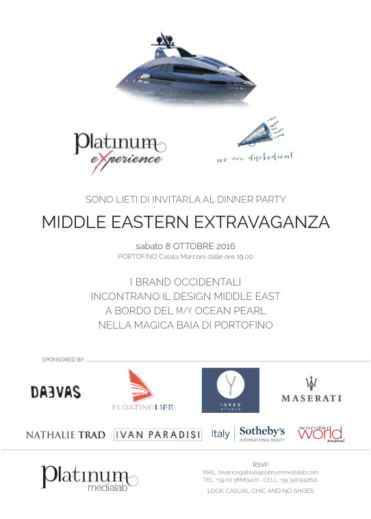 Middle Eastern Extravaganza IN MOSTRA